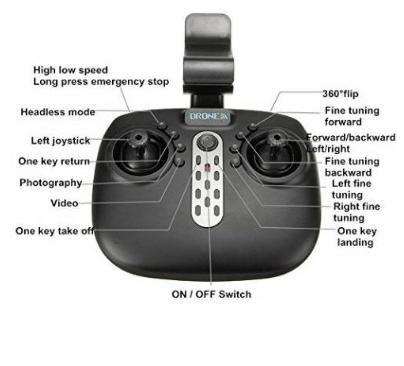 nano drone remote control