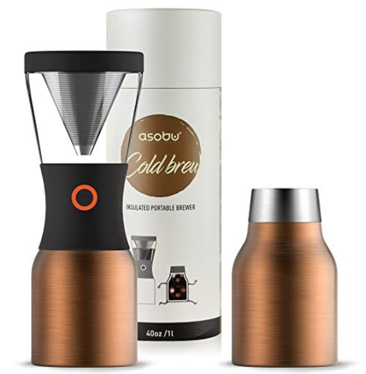 ASOBU COLDBREW PORTABLE COLD BREW COFFEE MAKER