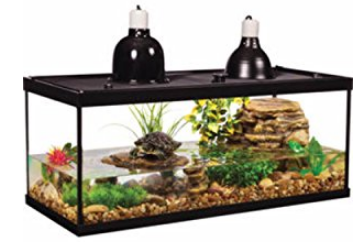 TETRA DELUXE AQUATIC TURTLE KIT - 20 Gallon Fish Tank