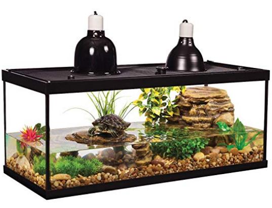 TETRA DELUXE AQUATIC TURTLE KIT - 20 Gallon fish Tank Aquarium
