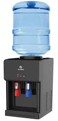 AVALON PREMIUM HOT OR COLD TOP LOADING COUNTERTOP WATER COOLER DISPENSER