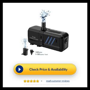 Zision Aqua Pump Fish Tank Filter