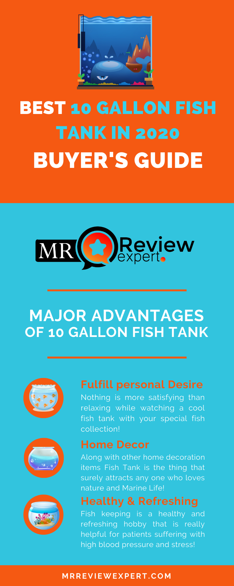 Best 10 gallon fish tank in 2020