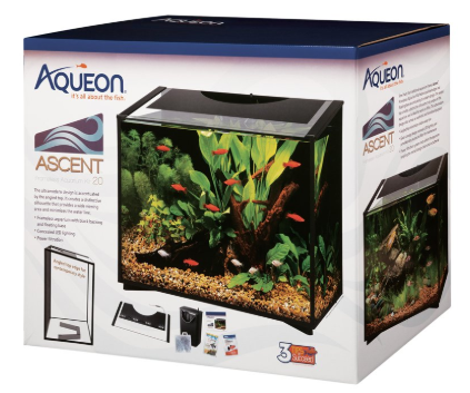 Aqueon Ascent Led Frameless Aquarium Kit