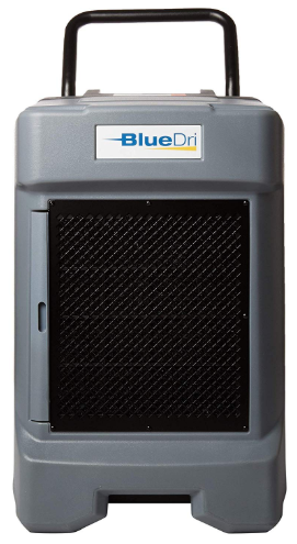 BlueDri Industrial Water Damage Dehumidifier – Best for Basement, Job sites