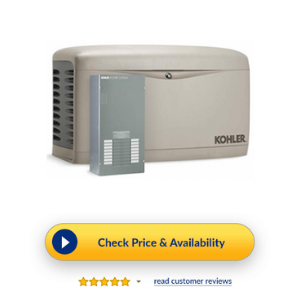 Kohler Air-Cooled Standby Generator - Best 100 Amp Transfer Switch Single Phase