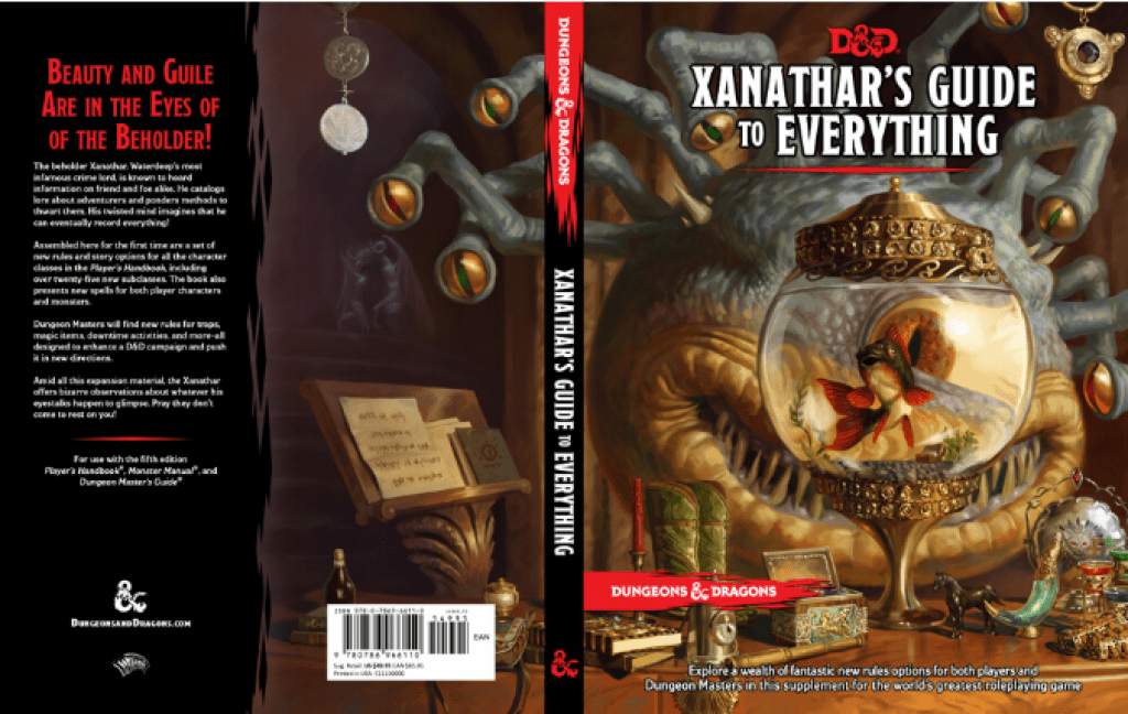 Xanathars Guides to Everything Book