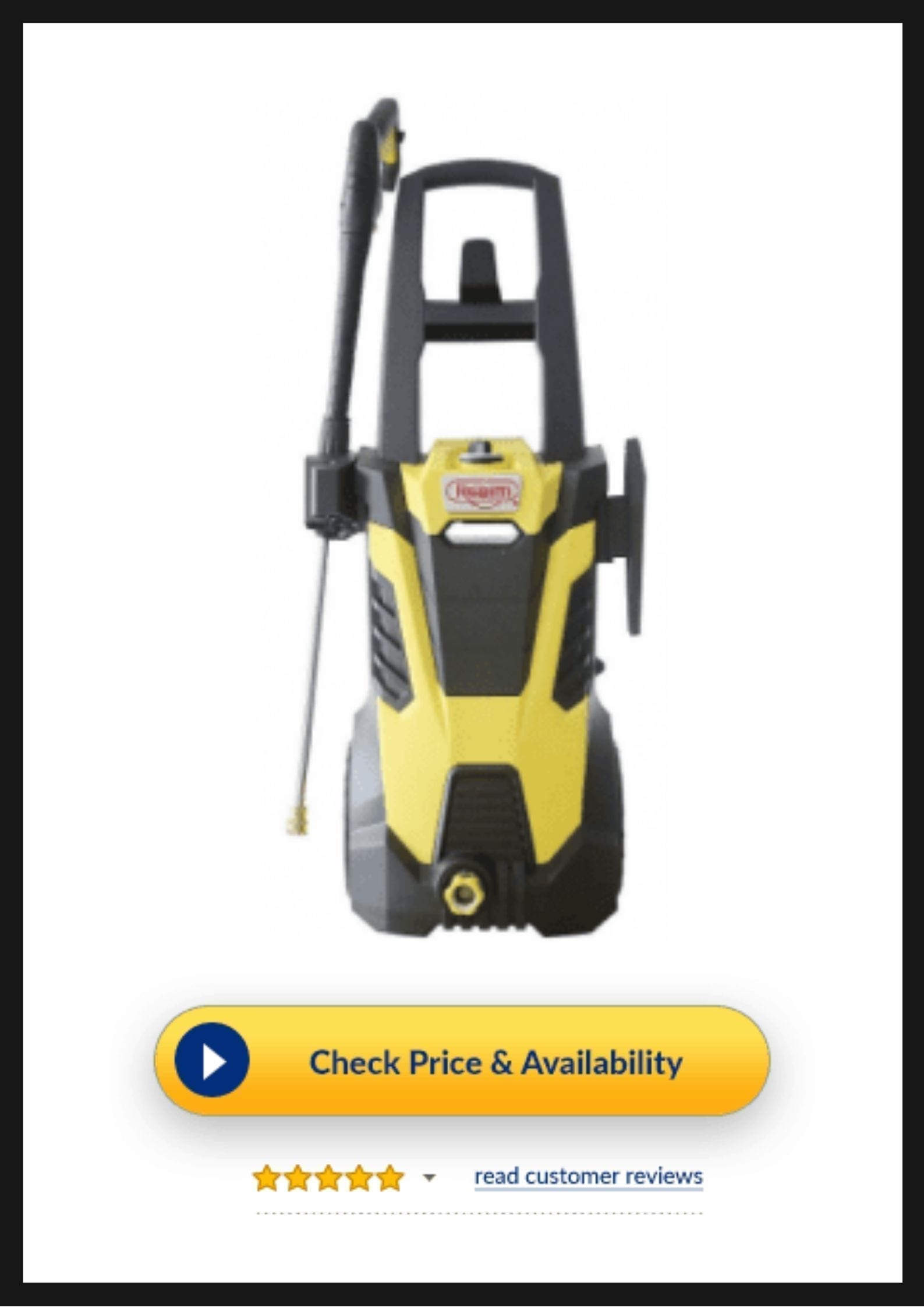 Realm 2600PSI Electric Pressure Washer