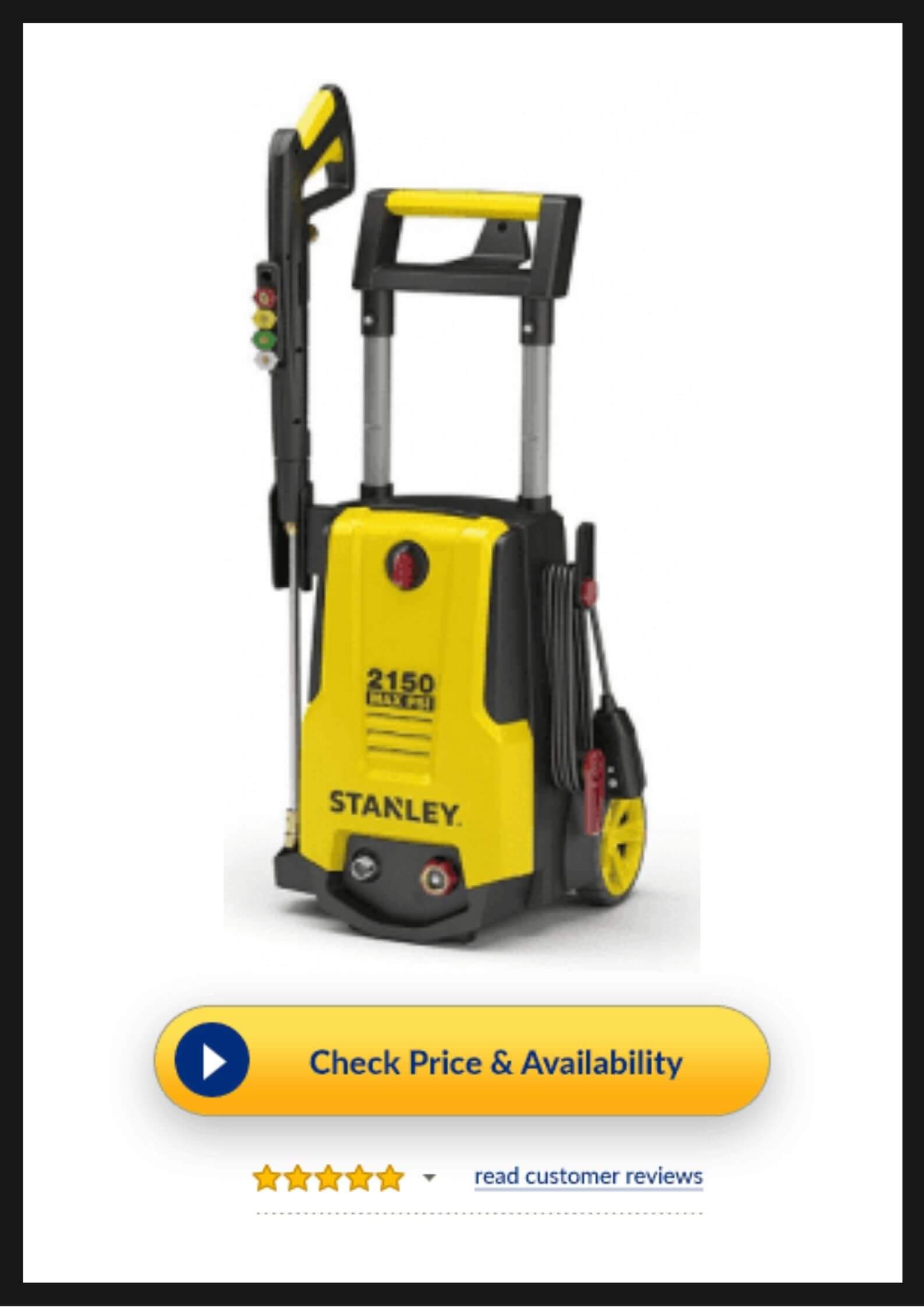 Stanley SHP2150 Car Wash Pressure Washer