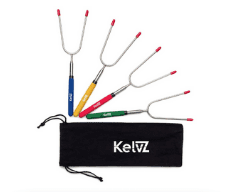 KelvZ Telescoping Marshmallow Roasting Sticks