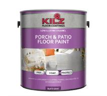 KILZ interior exterior enamel porch adn patio latex floor paint