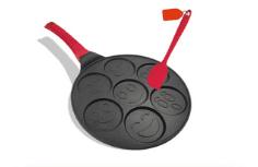 Emoji Pancake Pan for Mini Blini Pancakes