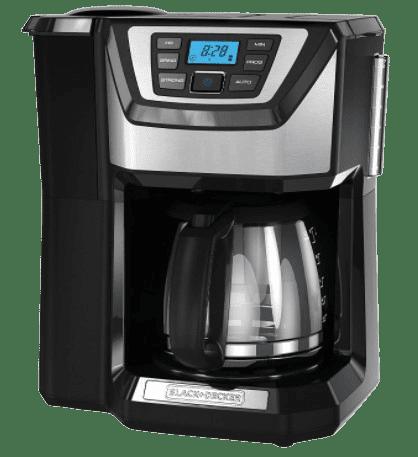 BLACK+DECKER 12-Cup Mill best Coffee maker