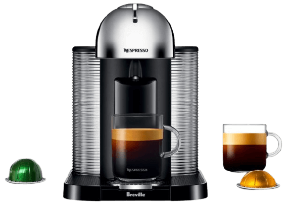 Breville Vertuo best Coffee maker with grinder