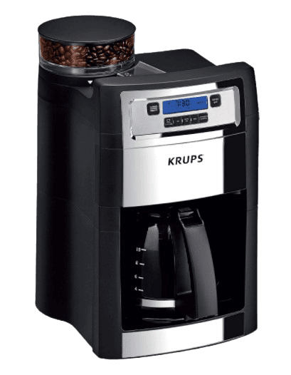 KRUPS Grind and Brew Auto Start best coffee Maker