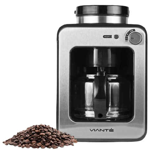Viante Mini Grind and Brew Coffee Maker with grinder for sale