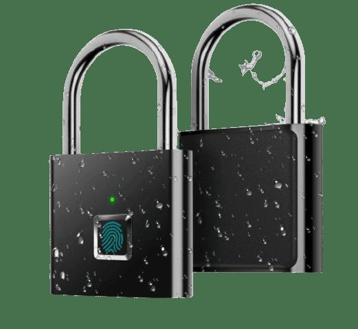 AICase IP65 Waterproof Ultra Light One Touch Open Fingerprint Lock