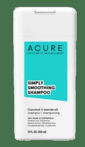 Acure Simply smoothing coconut & marula shampoo