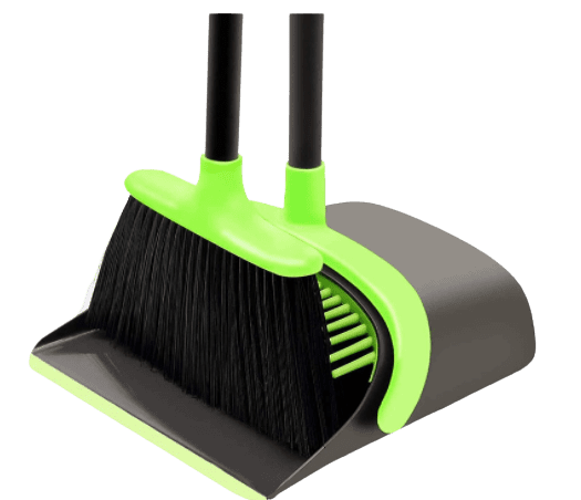 Roll over image to zoom in VIDEO Broom and Dustpan Set Cleaning Supplies