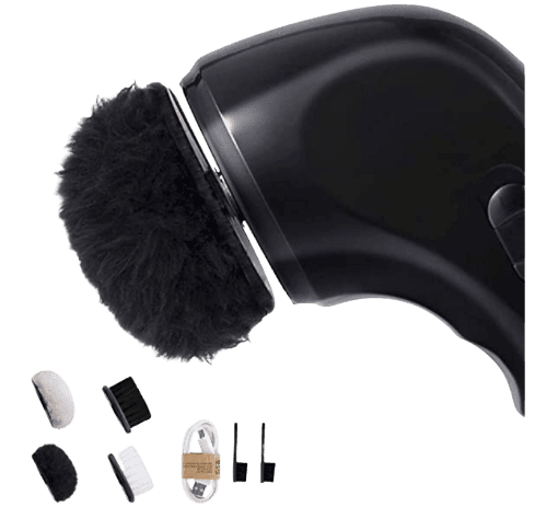 Electric Shoe Polisher Leather Shoe Cleaning Brush
