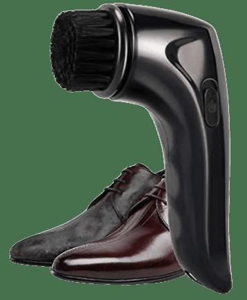 Electric Shoe Shine Care Kit,Shoe Polisher Brush Shoe Shiner Dust Cleaner