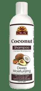 Okay Coconut deep moisturizing shampoo
