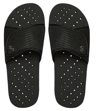 Showaflops Mens' Shower & Water Sandals for Pool, Beach, Dorm and Gym Slide