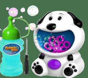 WisToyz Bubble Machine Dog Bubble Blower