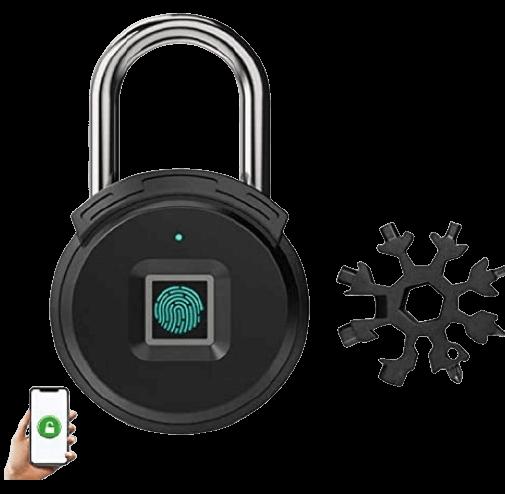 iPhone Bluetooth Fingerprint Padlock